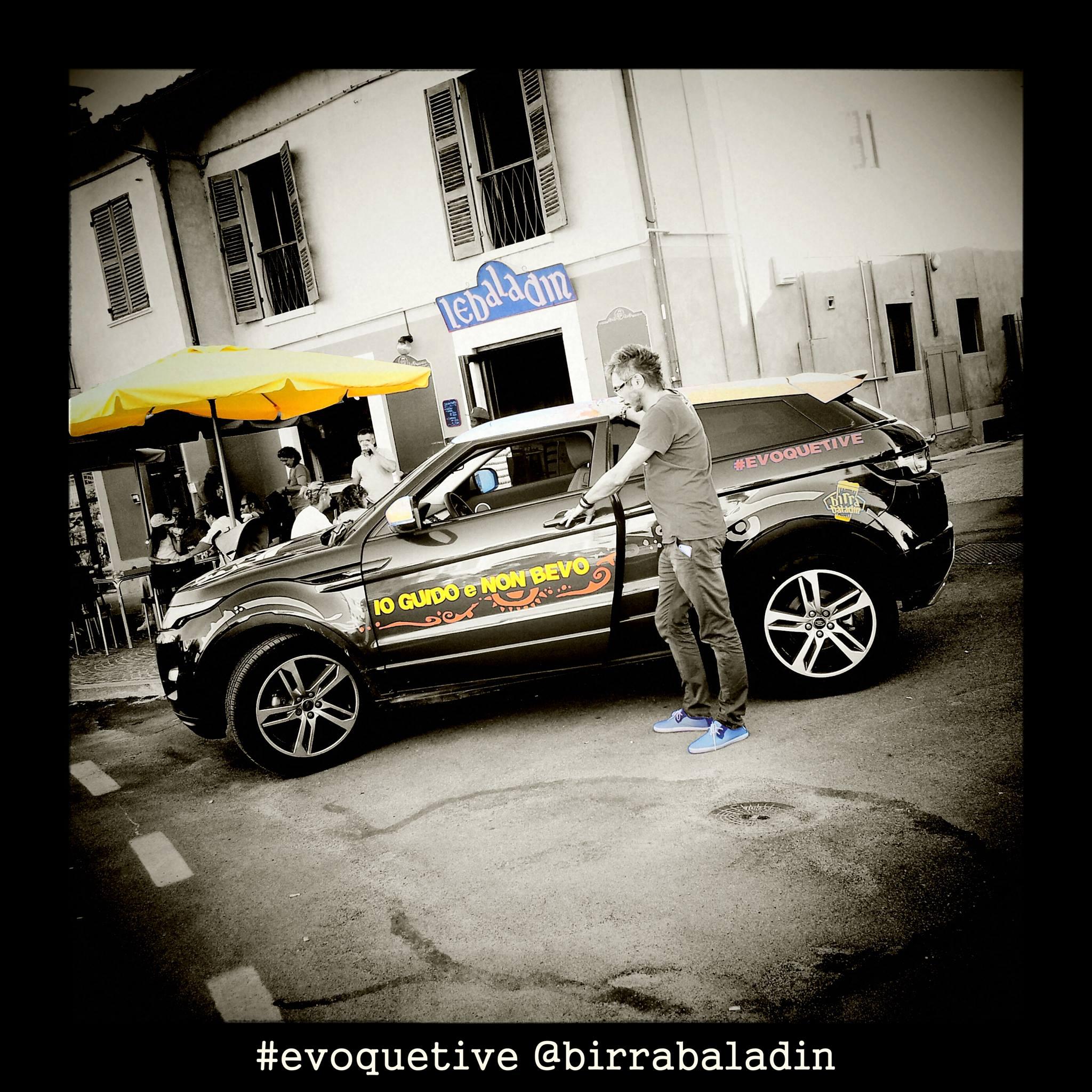 Land Rover e Baladin