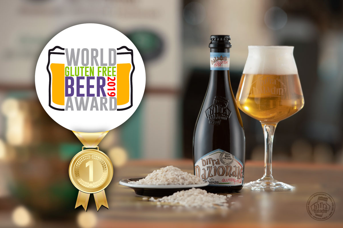 Nazionale Gluten Free Wins The World Gluten Free Beer Award