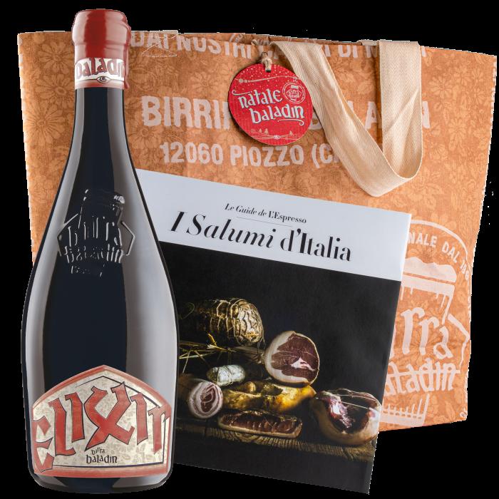 Birra Elixir Baladin e il libro Guida ai Salumi d'Italia