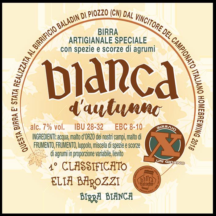 Bianca d'Autunno